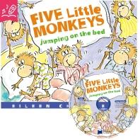 노부영 송 애니메이션 세이펜 Five Little Monkeys Jumping on the Bed (원서 & CD)