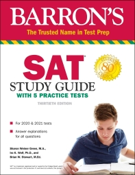 SAT Study Guide with 5 Practice Test