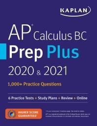 AP Calculus BC Prep Plus 2020 & 2021(Paperback)