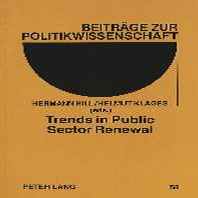 Trends in Public Sector Renewal