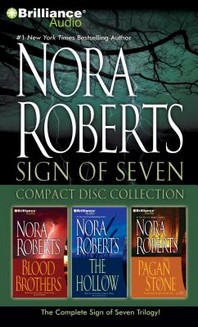 Nora Roberts Sign of Seven Compact Disc Collection