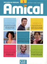 Amical 1 A1 - Livre + CD