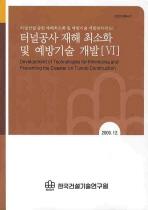 터널공사 재해 최소화 및 예방기술 개발. 6(2009 12)