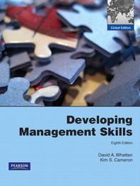 Developing Management Skills  (Paperback)