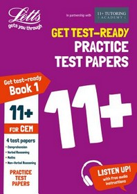 Letts 11+ Success -- 11+ Practice Test Papers Book 1, Inc. Audio Download