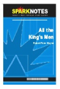 All the King's Men (SparkNotes Literature Guide)
