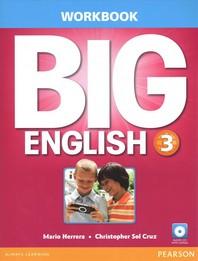 BIG ENGLISH 3 WORKBOOK W/AUDIOCD