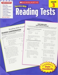 SCHOLASTIC SUCCESS WITH READING TESTS, GRADE 3