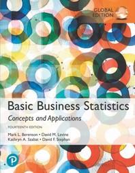 Basic Business Statistics (Global Edition)