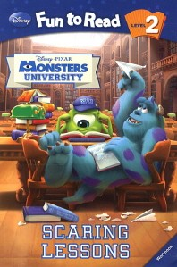 Monsters University(Scaring Lessons)(Workbook)