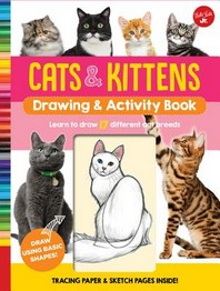 Cats & Kittens Drawing & Activity Book