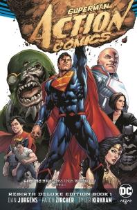 슈퍼맨: 액션 코믹스: 리버스 디럭스 에디션 BOOK. 1