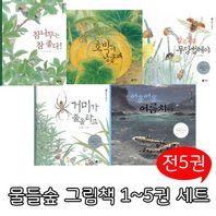 [비룡소/사은품증정] 자연관찰 물들숲 그림책 1-5 세트 (전5권)