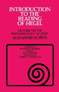 Introduction to the Reading of Hegel