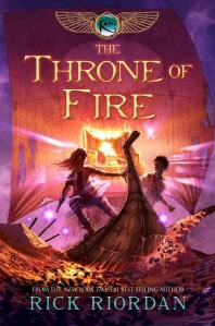 The Kane Chronicles #2 : The Throne of Fire