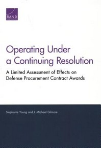 Operating Under a Continuing Resolution