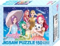 시크릿쥬쥬 별의 여신 직소퍼즐 150pcs 신시아와 타라