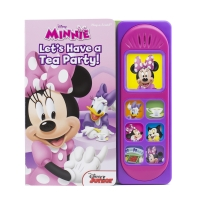 Disney Minnie Mouse - Let's Have a Tea Party! Little Sound Book - Pi Kids (Play-A-Sound