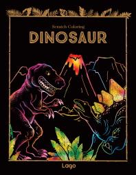 스크래치 컬러링 다이노소어(Scratch Coloring Dinosaur)(인터넷전용상품)