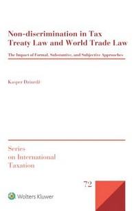Non-Discrimination in Tax Treaty Law and World Trade Law