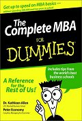 Complete MBA for Dummies (For Dummies)