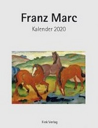Franz Marc 2020. Kunstkarten-Einsteckkalender