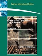 Structured Computer Organization 5/E (S/C)