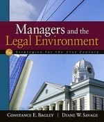 Managers and the Legal Environment