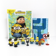 Minions 2 My Busy Book 미니언즈 2 비지북 (미니피규어 10개 + 놀이판)