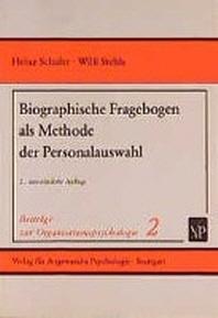 Biographische Fragebogen als Methode der Personalauswahl