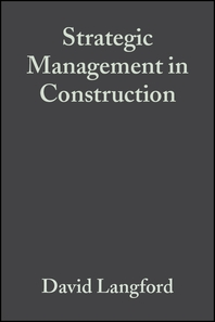 Strategic Management in Construction