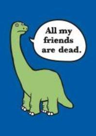 All My Friends Are Dead Felt Journal
