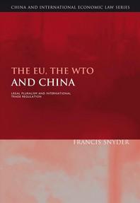 The Eu, the Wto and China