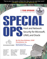 Special Ops  Host and Network Security for Microsoft Unix and Oracle