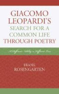Giacomo Leopardi's Search For a Common Life Through Poetry