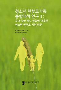 청소년 한부모가족 종합대책 연구. 2: 국내 입양 제도 변화에 대응한 청소년 한부모 지원 방안