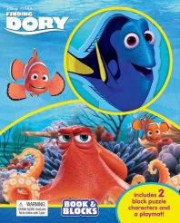 Disney Finding Dory (Book & Blocks)