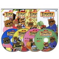 티모시네 유치원 1집 4종세트 Timothy Goes to school(DVD)