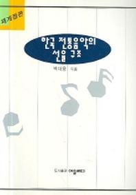 한국 전통음악의 선율 구조