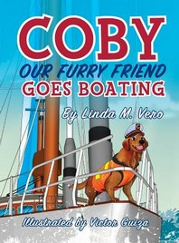Coby Our Furry Friend Goes Boating