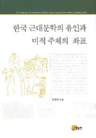 한국 근대문학의 유인과 미적 주체의 좌표
