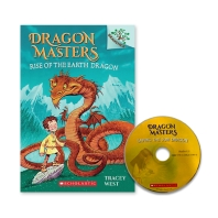 DRAGON MASTERS #1:RISE OF THE EARTH DRAGON (WITH CD) (NEW)