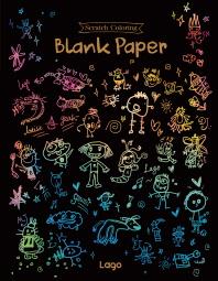 스크래치 컬러링 블랭크 페이퍼(Scratch Coloring Blank Paper)(인터넷전용상품)