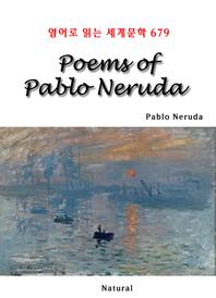 Poems of Pablo Neruda (영어로 읽는 세계문학 679)
