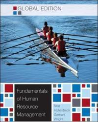 Fundamentals of Human Resource Management. by Raymond Andrew Noe ... [Et Al.]