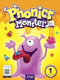 Phonics Monster 1 Student Book (with Readers & App)