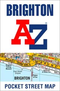 Brighton A-Z Pocket Street Map