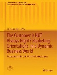 The Customer Is Not Always Right? Marketing Orientations in a Dynamic Business World