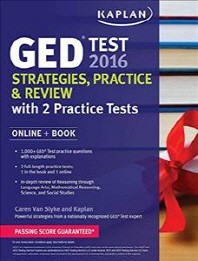 Kaplan GED Test 2016 Strategies, Practice, and Review(Paperback)