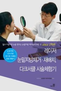 레이저 눈밑지방제거 재배치, 다크서클 시술체험기